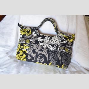 Gabby Style Satchel/Handbag in Baroque Pattern